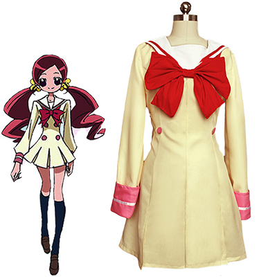 Fantasias de Pretty Cure Junior Colegial Uniforme Cosplay Carnaval