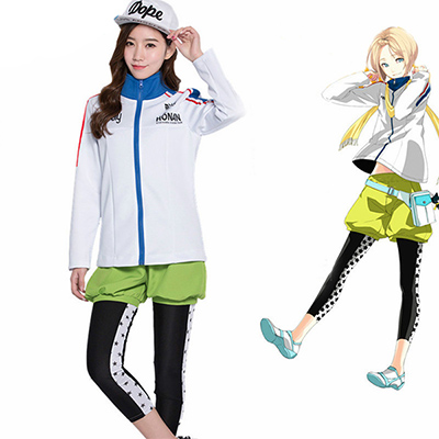 Costumi Prince Of Stride Kohinata Hozumi Sport Swear Suit Cosplay