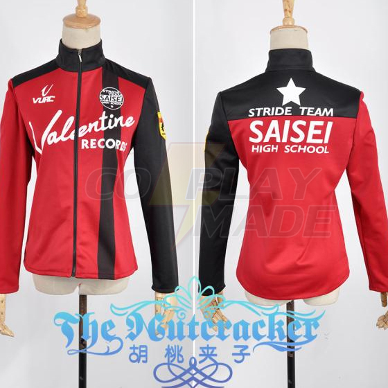 Prince Of Stride Reiji Suwa Sport Jas Jacket Cosplay Kostuum Perfect aangepast