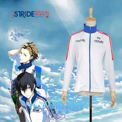 Prince Of Stride Riku Yagami Sports Uniform Cosplay Kostuum Perfect aangepast