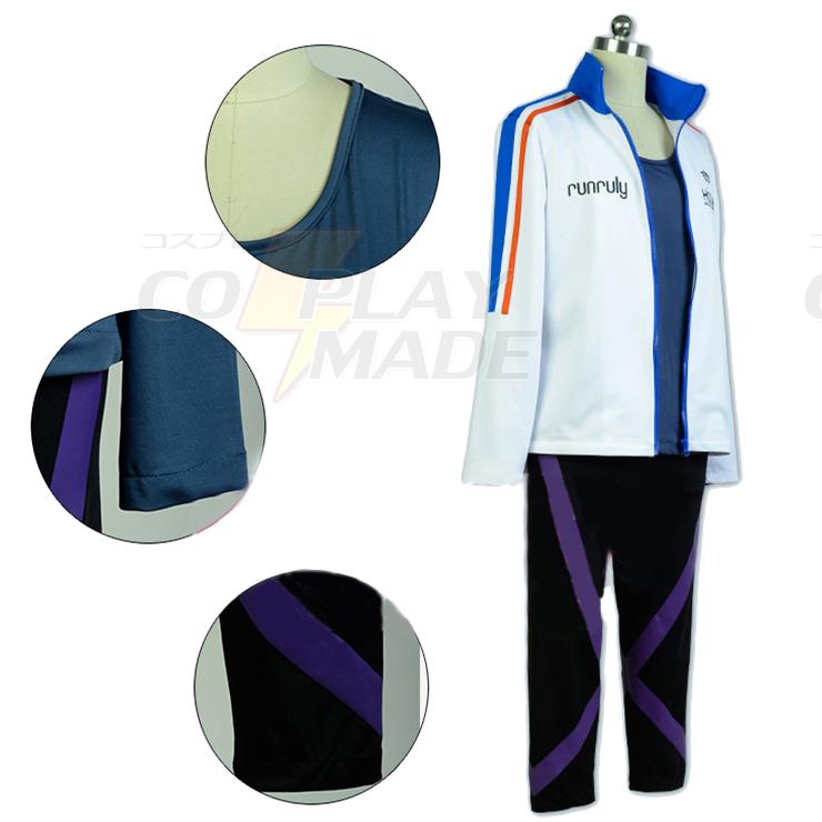 Prince Of Stride Takeru Fujiwara Cosplay Costume Perfect Custom