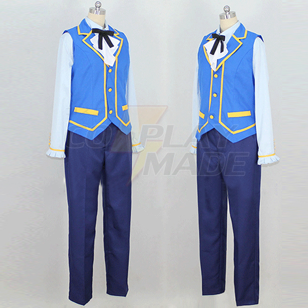Pripara Man Maid Cosplay Kostuum Halloween Perfect aangepast
