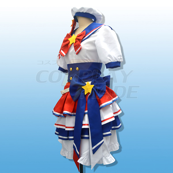 Costumi PriPara Prism Paradise Reona Uesuto Dorothy West Halloween Cosplay