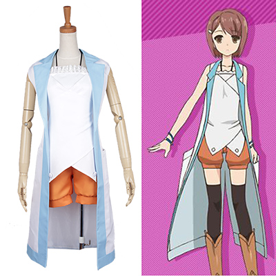 Problem Children are Coming From Another World Kasukabe Cosplay Costume