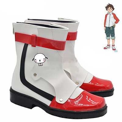 Psalms Of Planets Eureka SeveN Renton Thurston Cosplay Shoes Boots Professional Handmade