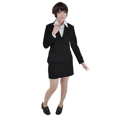 Psycho-Pass Tsunemori Akane Suits Kostym Cosplay Uniform Halloween