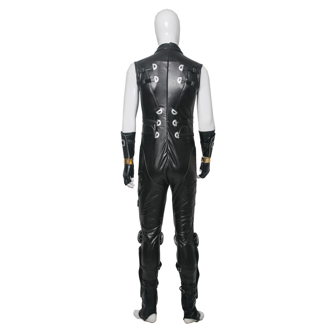 Ninja Gaiden Ryu Hayabusa Cosplay Costume Leather Full Set
