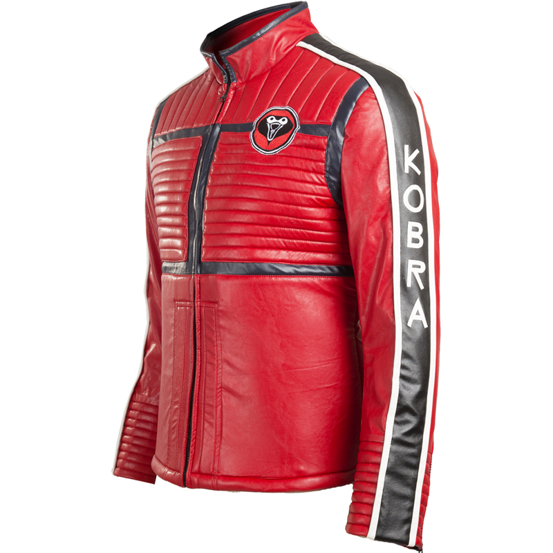 My Chemical Romance Bassist Mikey Way Cosplay Kostume Red Jacket Fastelavn