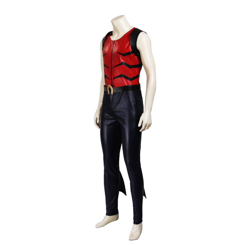 Young Justice Aqualad Jackson Hyde Superhero Cosplay Kostume Fastelavn