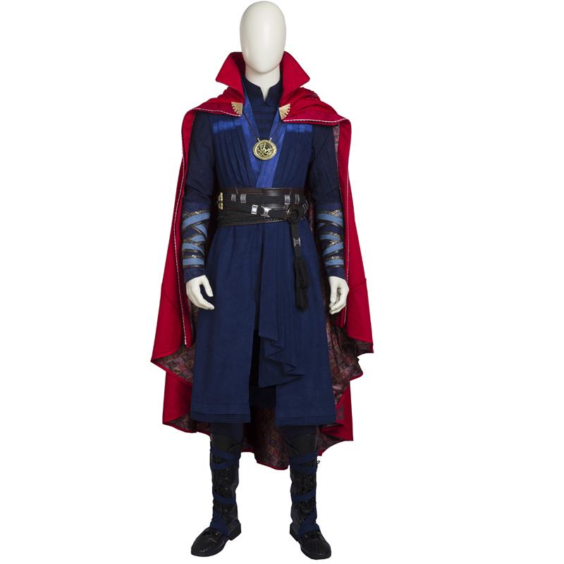 Doctor Strange Stephen Strange Cosplay Jelmez Teljes Készlet Karnevál