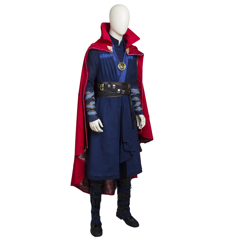 Doctor Strange Stephen Strange Cosplay asut Koko setti Naamiaisasut
