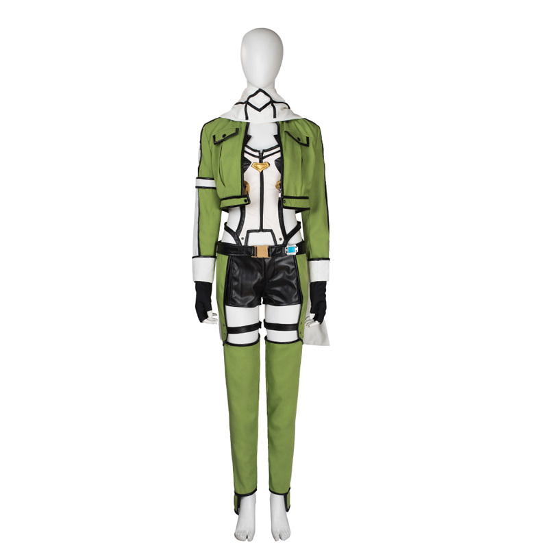 Sword Art Online SAO Asada Shino Cosplay Costume