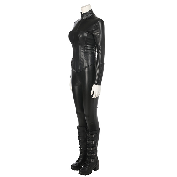 Underworld: Blood Wars Vampire Warrior Selene Cosplay Kostume Leather Fastelavn