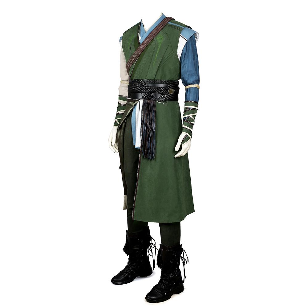 Doctor Strange Karl Mordo Cosplay asut Naamiaisasut