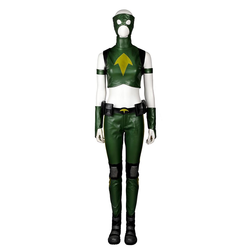 Young Justice Artemis Artemis Crock Cosplay Costumi Carnevale