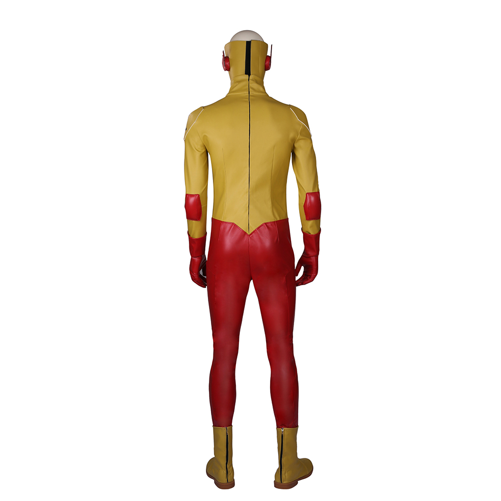 Young Justice Wally West Kid Flash Cosplay Costume DC Comics