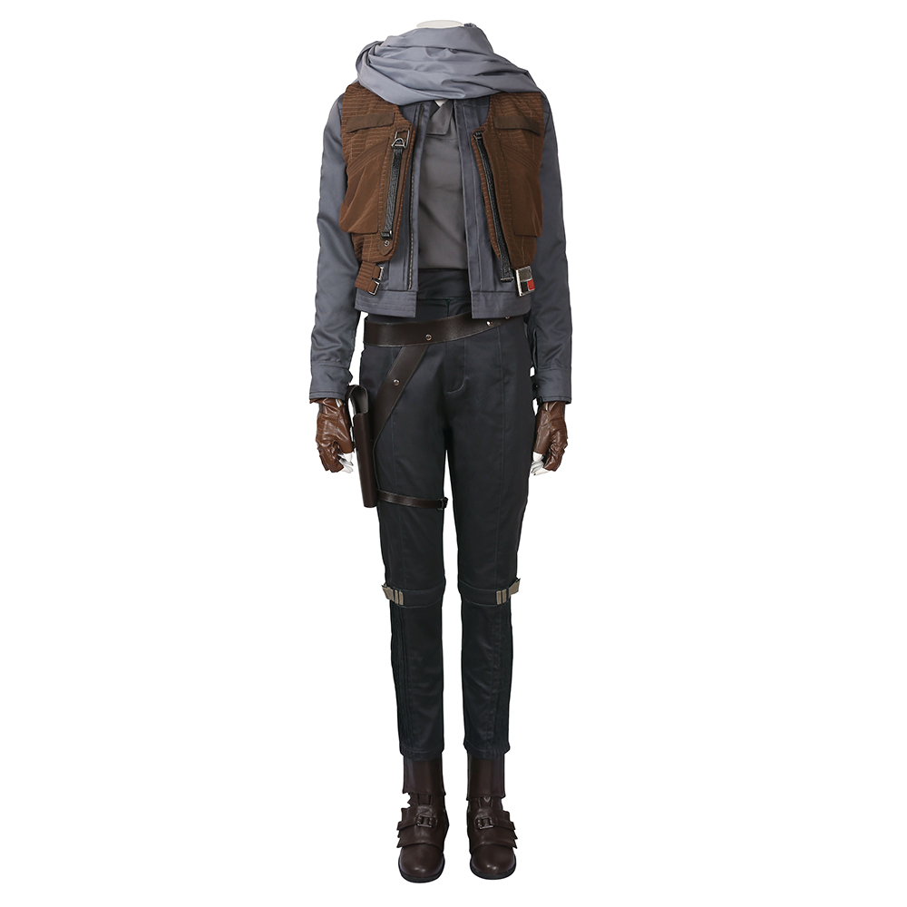 Rogue One: A Star Wars Story Jyn Erso Cosplay Costume Carnaval