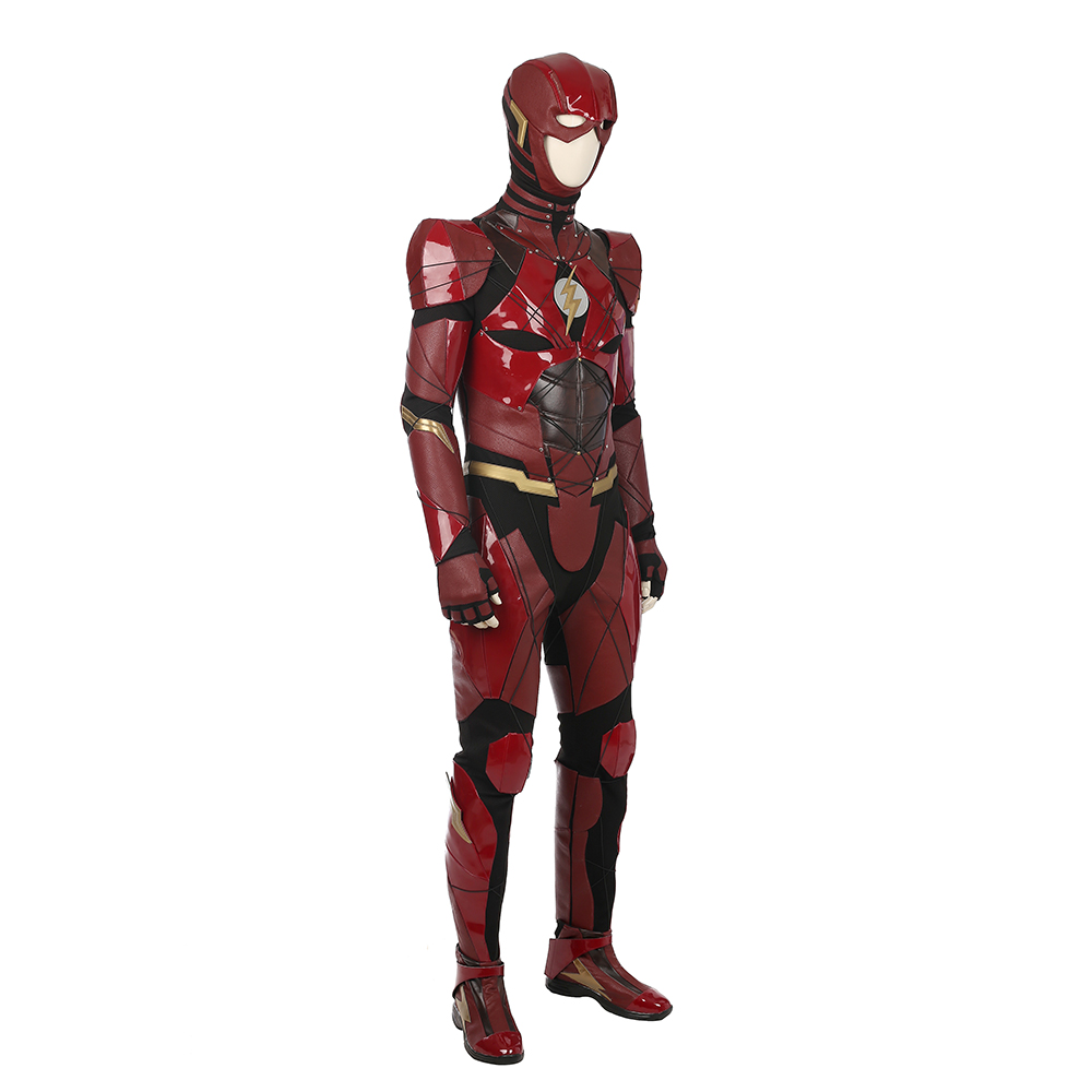 Justice League The Flash Barry Allen Cosplay asut Naamiaisasut