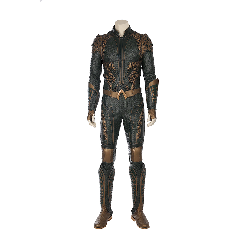 Justice League Aquaman Arthur Curry Cosplay Kostym Karneval