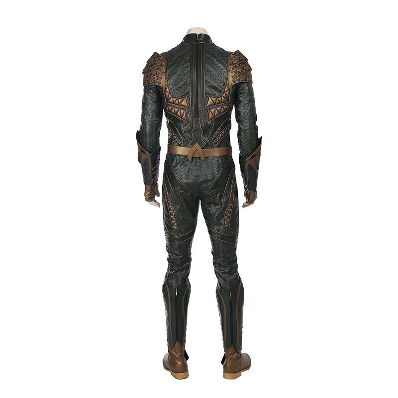 Justice League Aquaman Arthur Curry Cosplay Kostume Fastelavn