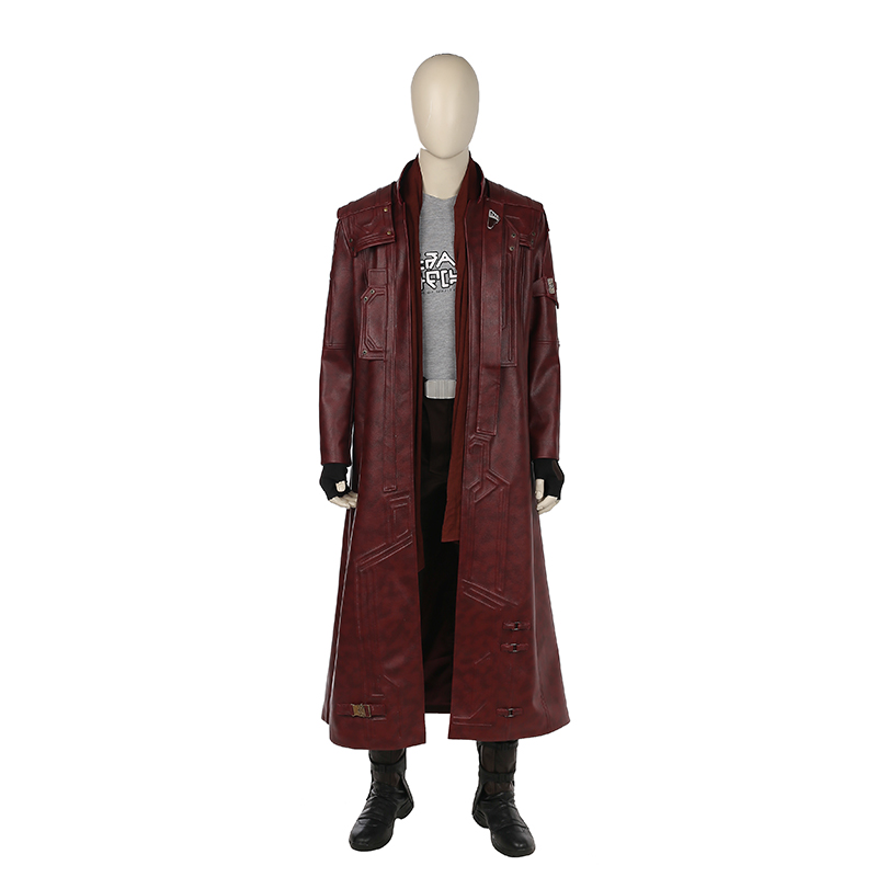 Guardians of the Galaxy Vol. 2 Star-Lord Cosplay Kostym Karneval