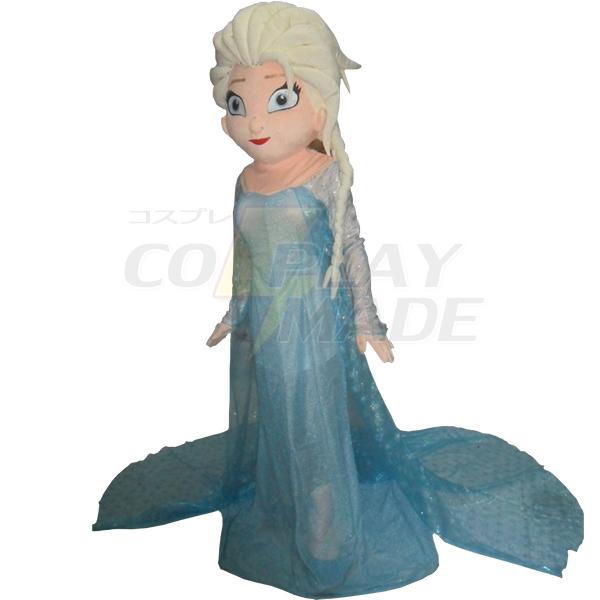 Frozen Princess Elsa Mascot Cartoon Characters Costume Cosplaymade Com