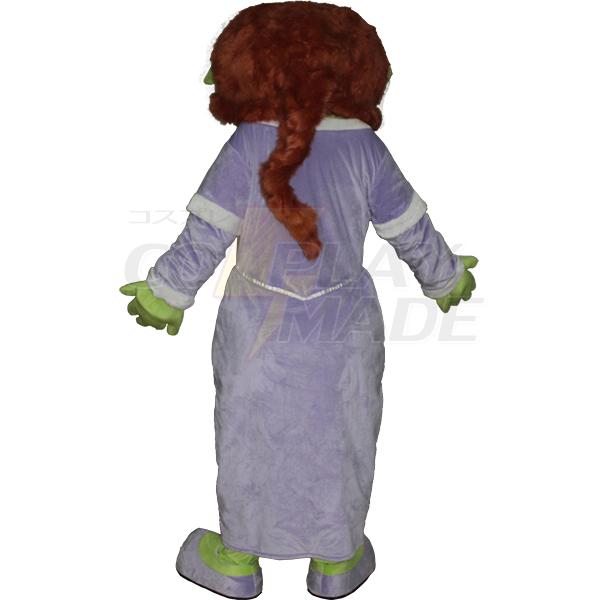 Princess Elsa Mascot Cartoon Characters Costume