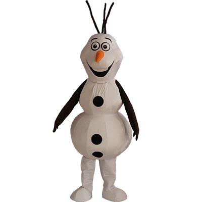 Olaf Maskottchen Karikatur Figur Kostüme