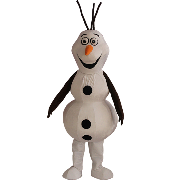 Olaf Mascot Cartoon Characters Costume