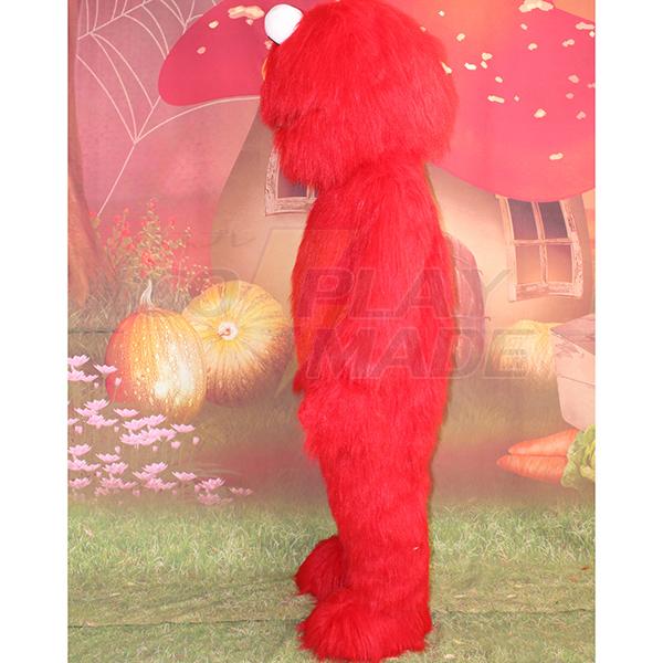 Red Sesame Street Elmo Cookie Mascot Cartoon Characters Costume