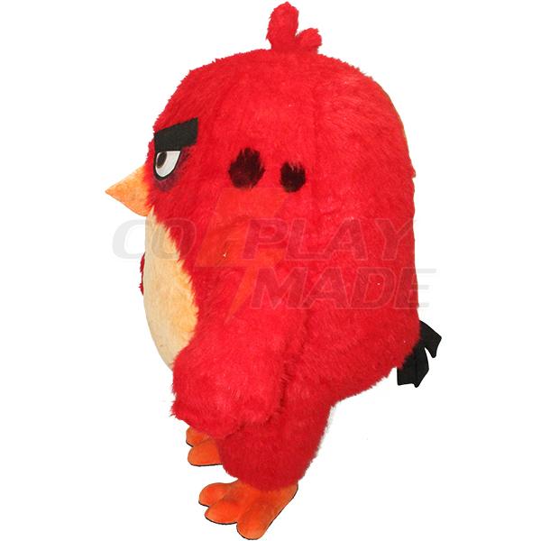 Red Angry Bird Mascot Costume Cartoon