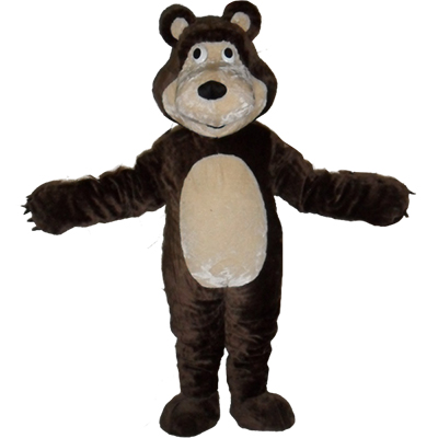 Masha Bear Bruin Ursa Grizzly Mascot Costume Cartoon