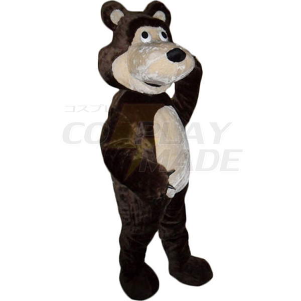 Masha Bear Bruin Ursa Grizzly Mascot Costume Cartoon