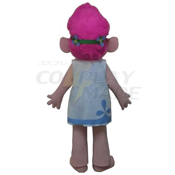 Trolls Princess Poppy Mascot Costume Cartoon