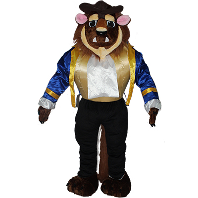 Beauty and the Beast Character Beast Mascot Costume Cartoon