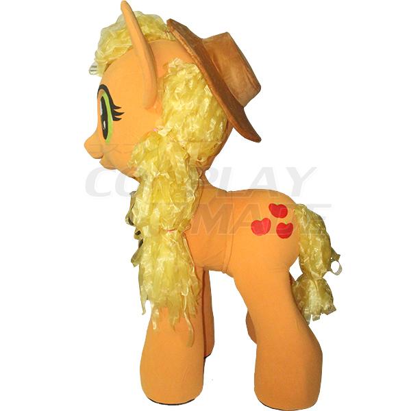 Orange My Little Pony Mascot Costume Cartoon