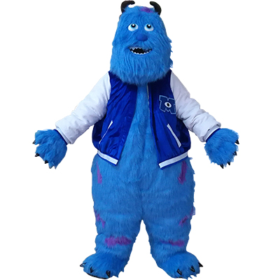 Monster and Sully Company Mascot Costume Cartoon