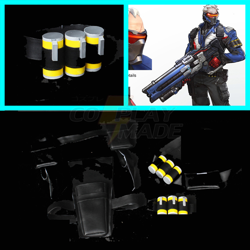 Overwatch 76 Soldier Cosplay Clip Bullet Pocket Props New Zealand