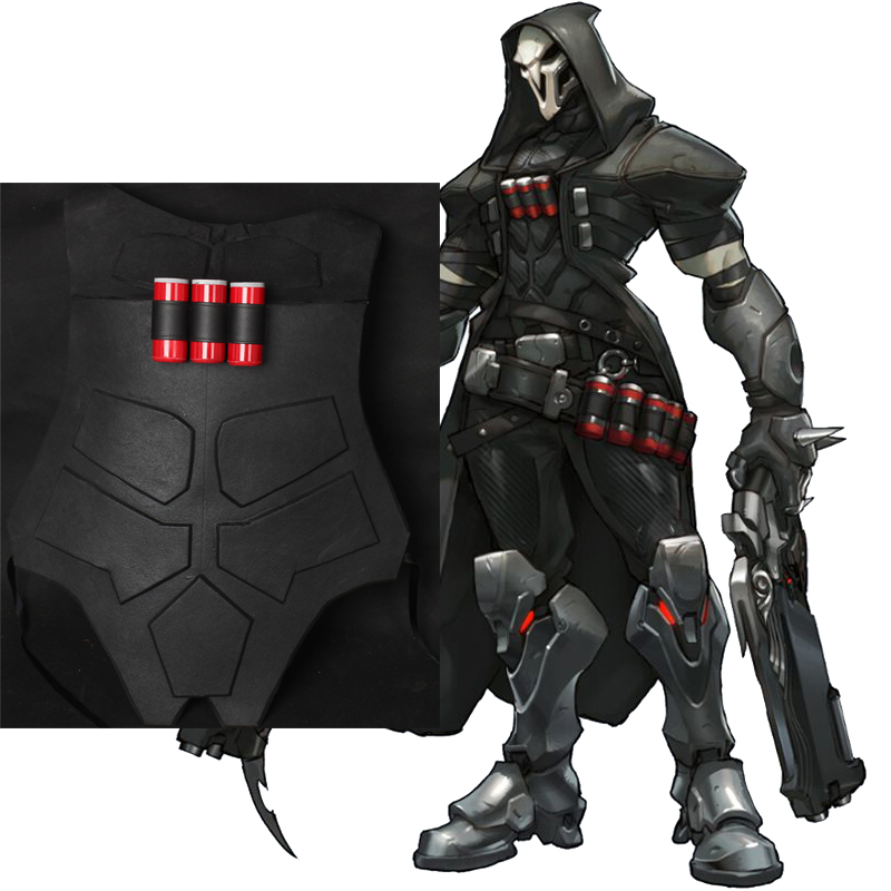 Overwatch Reaper Male Chest Armor Cosplay Rekvisiitta Suomi