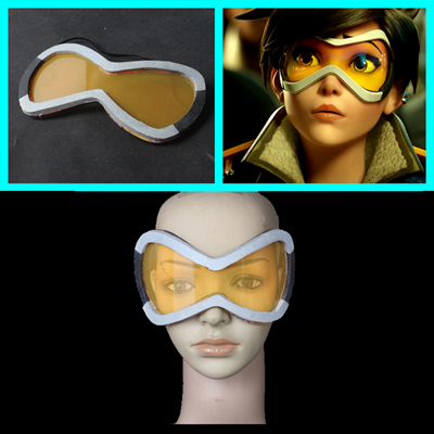 Overwatch Tracer Goggles Prop Ow Απόκριες Στηρίγματα Pvc Ελλάδα