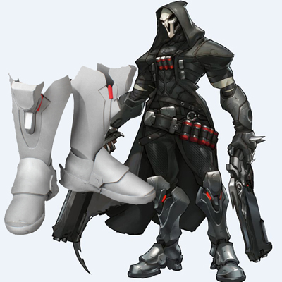 Overwatch Reaper Cosplay Shoes Ow Custom Made Shoes Australia Online Store