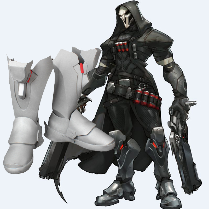 Overwatch Reaper Cosplay Topánky Ow Custom Made Topánky Slovensko