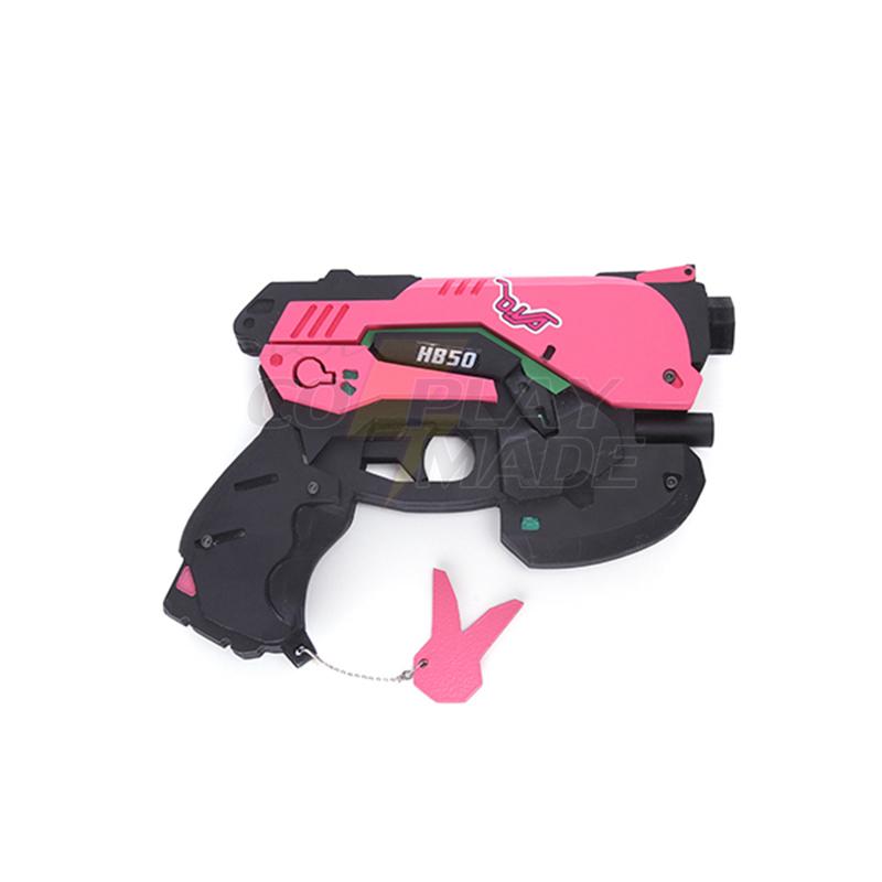 Overwatch D.va DVA Cosplay Gun handgun Rekvisiitta lisälaitteet Suomi