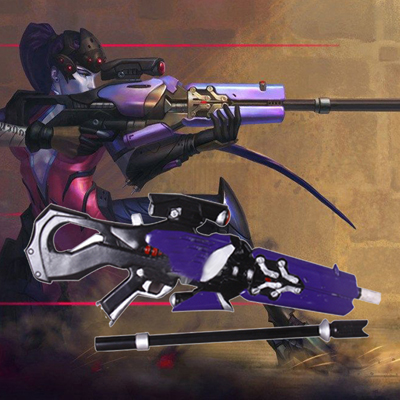 Ow Emily Widowmaker Cosplay Props Halloween Accessories Australia Online Store