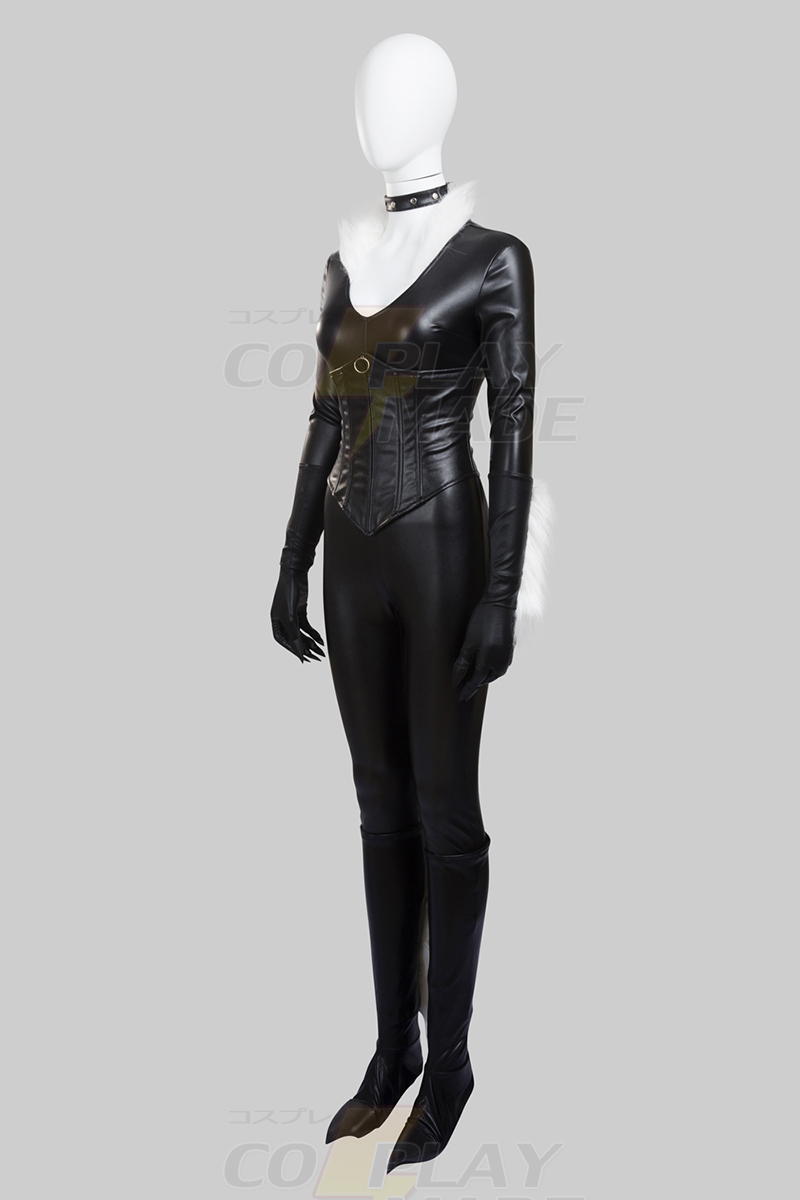 Déguisement Spider-Man Felicia Hardy Chat Noir Costume Carnaval Cosplay Zentai France