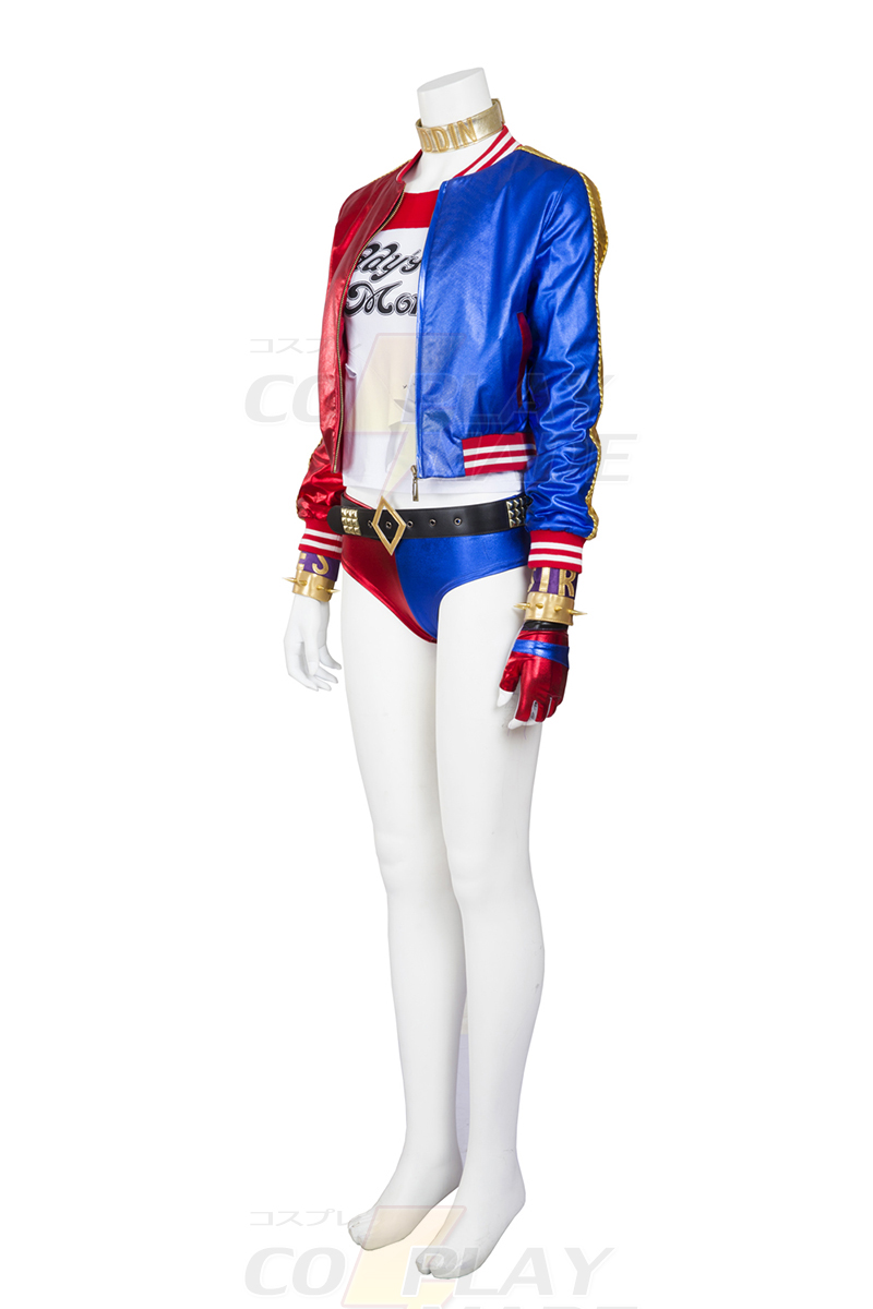 Suicide Squad Harley Quinn Costume Carnaval Cosplay Déguisement d\'Halloween Outfit France