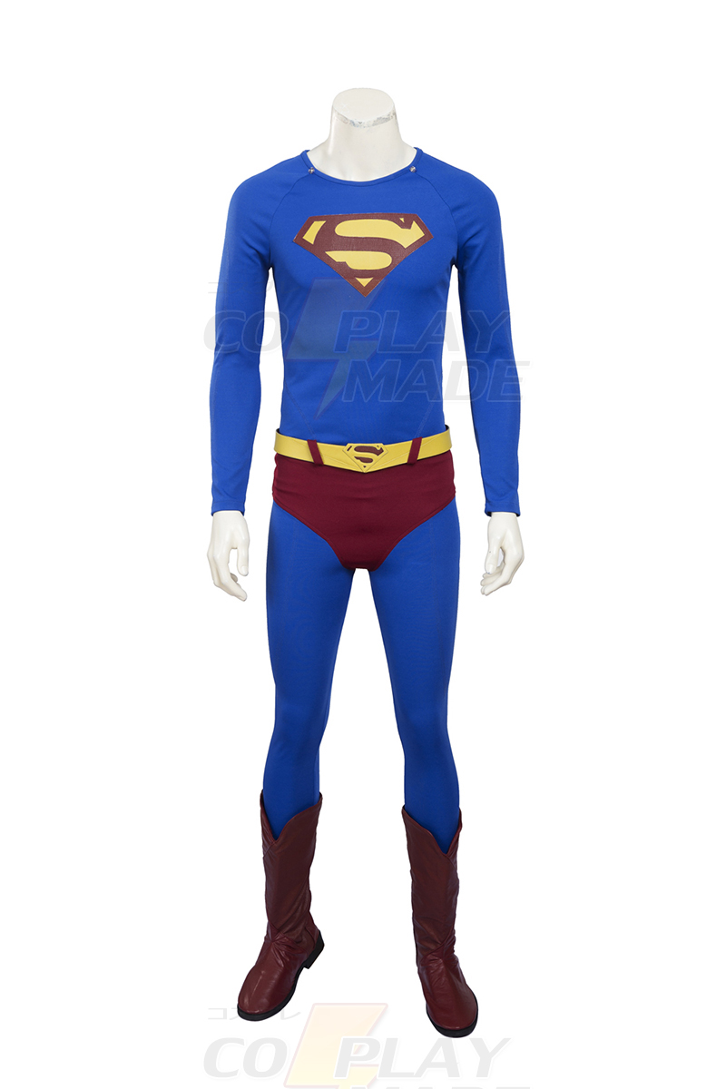 Fantasias de 2016 Superman Returns Cosplay Halloween Trajes Zentai Suit Brasil