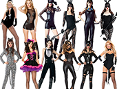 Catwoman & Rabbit Costumes