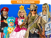 Kid's Cosplay Costumes