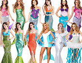 Mermaid & Sea Creature Costumes